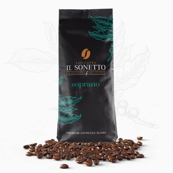 Sonetto Soprano Espresso - Εκλεκτός Καφές Χονδρική για Επαγγελματίες